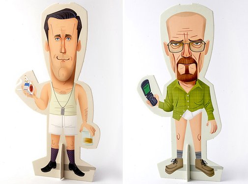 Breaking Bad & Mad Men Trimdolls | That Should Be Mine