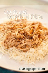 Crock Pot Teriyaki Chicken | Chasing Supermom