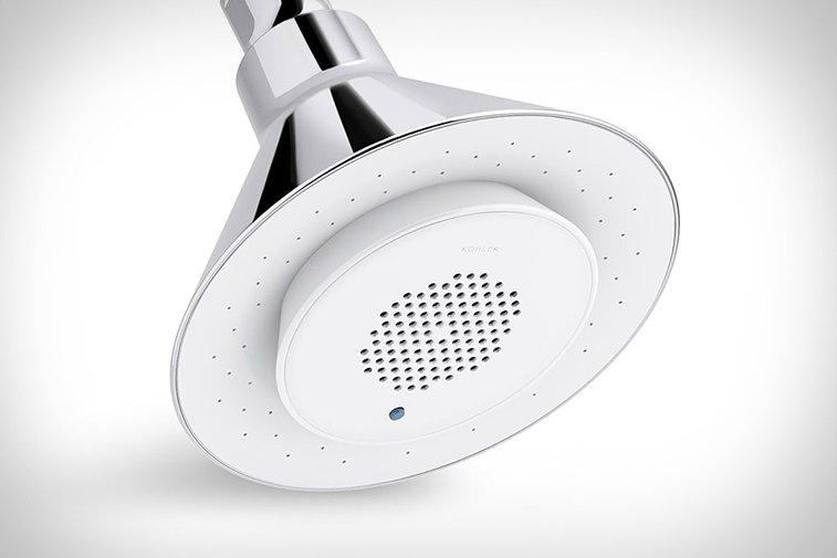 Kohler Moxie Speaker Showerhead | Uncrate