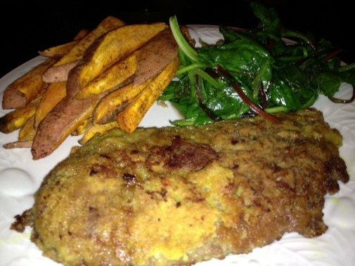 Low-Carb Chicken-Fried Steak