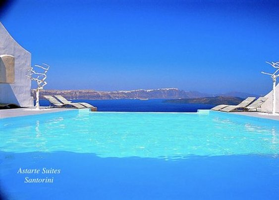 Astarte Suites Hotel in Santorini www.astartesuites.gr on we heart it / visual bookmark #45463347