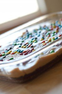 Peanut Butter Cookie Dough Brownies | Chasing Supermom