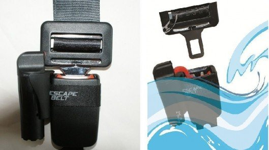 Escape Belt releases your seat belt when your car fills with water