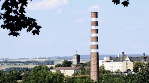 Sky Stack semi-invisible chimney