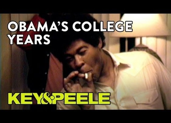 Video - Key & Peele the Obama College Years