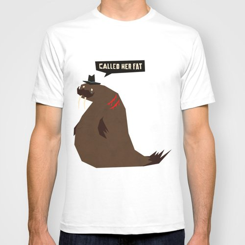 W is for Walrus T-Shirt | That Should Be Mine