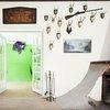Skateboard art interior in Austria