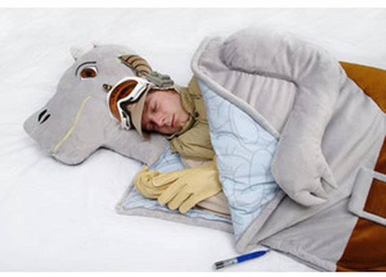 ThinkGeek :: Star Wars Tauntaun Sleeping Bag
