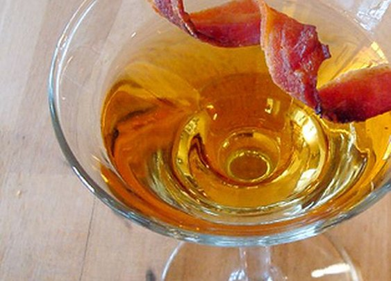 Drink of the Week: PDT's Bacon Old-Fashioned
