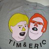 Brand New Mens Tim Eric T Shirt Tee XL Adult Swim Comedy Indie Gray Awesome 56   eBay