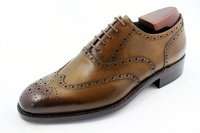 custom handmade brogues