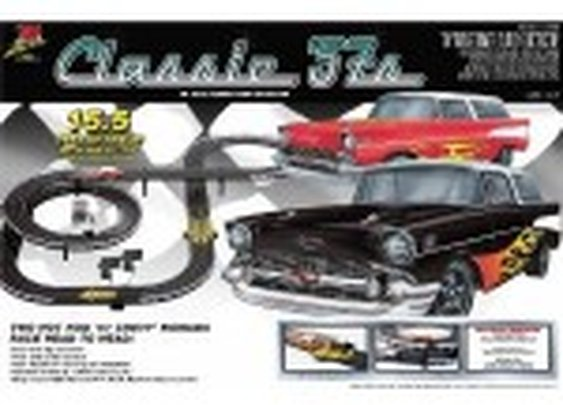 Latest Life Like Slot Car Sets - Classic 57