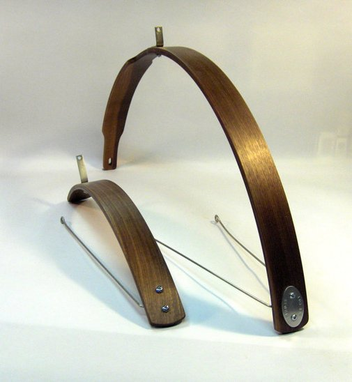 Walnut Bike Fenders by offcutstudio on Etsy