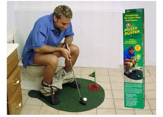 Potty Putter. YES.