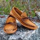 Mens Canoe Moccasins by KingsTrailLeather on Etsy