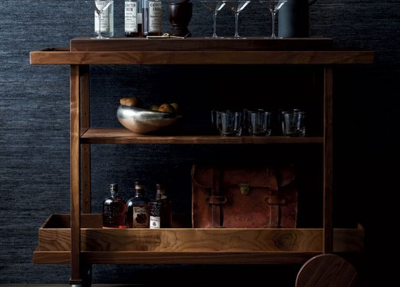 The Bar Cart Comeback | Garden and Gun