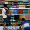 Amazing artist, Liu Bolin who blends into his environments for his art.