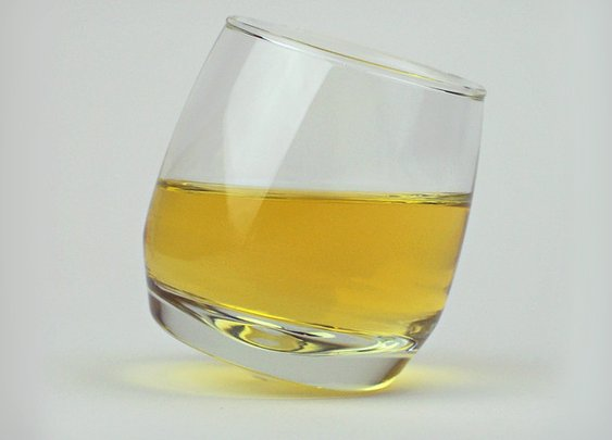 Rocking Whiskey Glasses   Cool Material