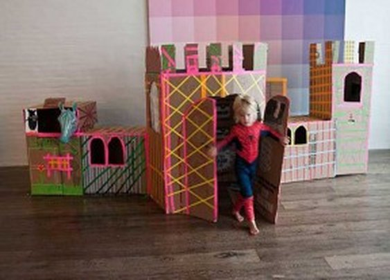 How to Build Cardboard Castle