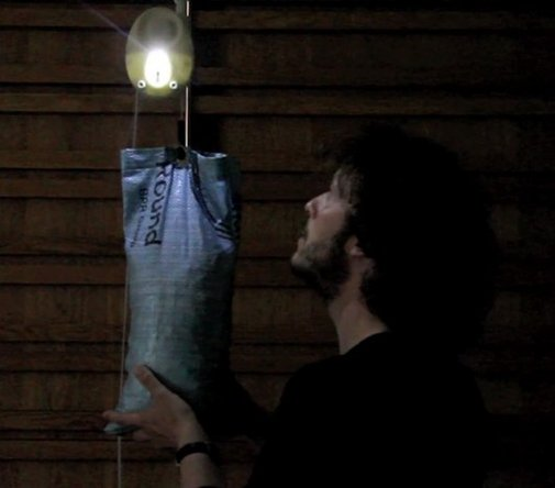 GravityLight tackles weighty issue of lighting in the developing world