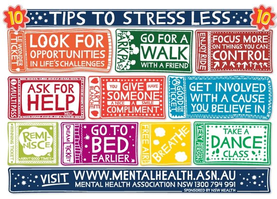 The Top Ten Anti Stress Tips