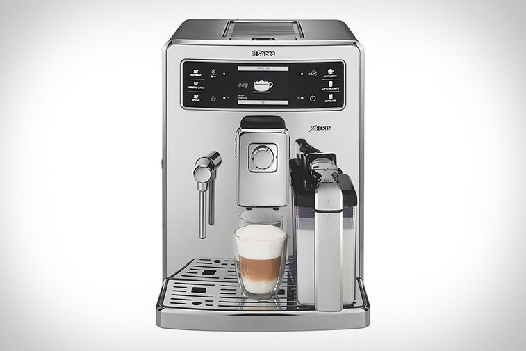 philips saeco xelsis fingerprint id espresso machine uncrate gentlemint. Black Bedroom Furniture Sets. Home Design Ideas