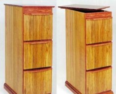 File Cabinet with Secret Compartment