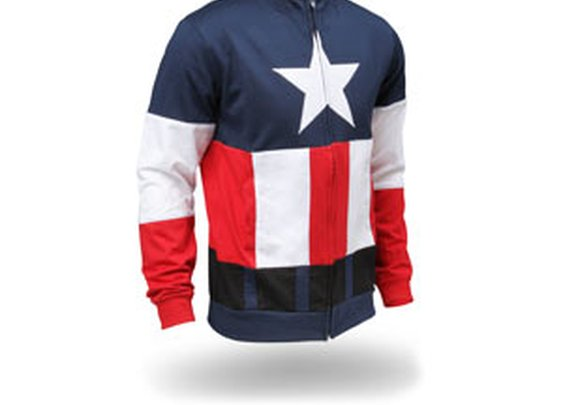 Captain America Hoodie- Adult size