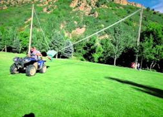 The Human Slingshot - YouTube