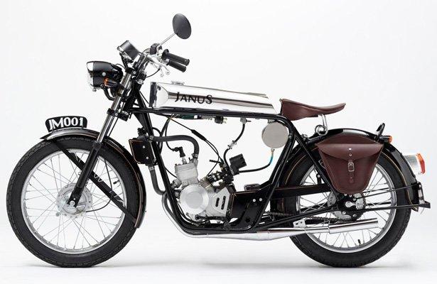 Stylish Janus Halcyon 50 Motorcycle   Tuvie