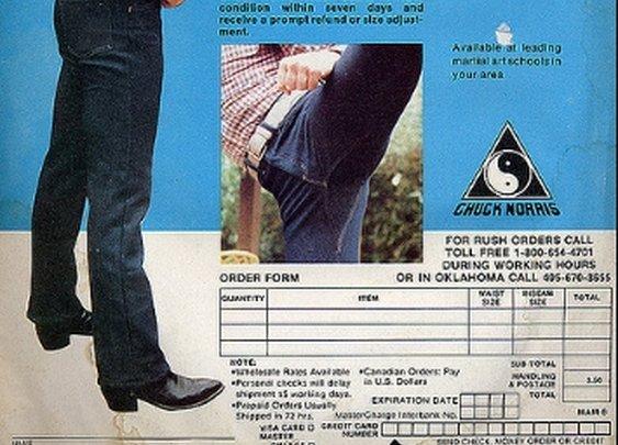 Chuck Norris - Action Jeans