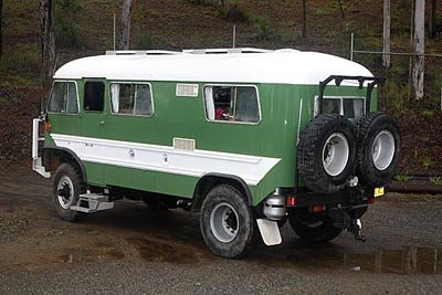 School Bus On A 4x4 Truck Chassis Gentlemint