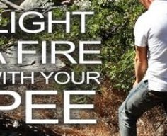 Light a Survival Fire With Urine! - YouTube