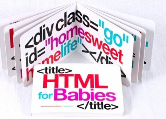 HTML for Babies Board Book by Code Babies on The Bazaar. Buy creative products by Code Babies online!