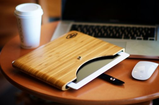Blackbox Bamboo iPad Case | That Should Be Mine
