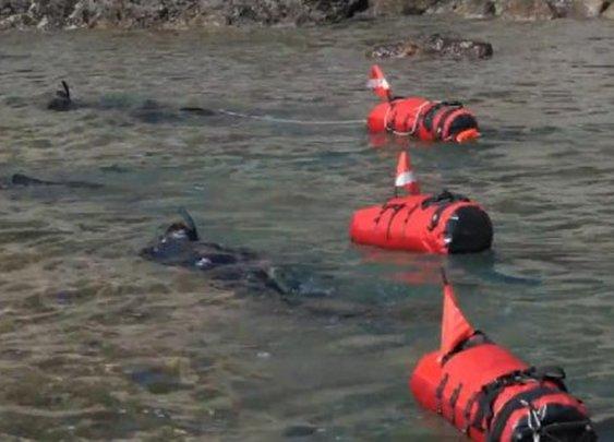 Innovative waterproof backpacks power the new sport of seatrekking