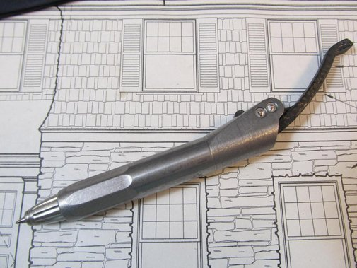 Microtech Titanium Prototype Pen