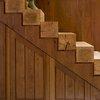 beautiful  beam stairs