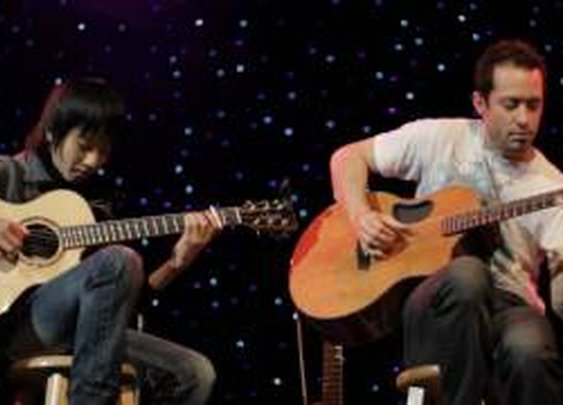 (Michael Jackson) Billie Jean - Sungha Jung & Trace Bundy - YouTube