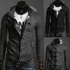 New Fashion Korean Men's Slim Fit Hoodie Sweater Male Jacket/Coat/Sweatshirt/Top