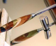 Telescoping Stylus Pen in handcrafted wood by Hope & Grace Pens