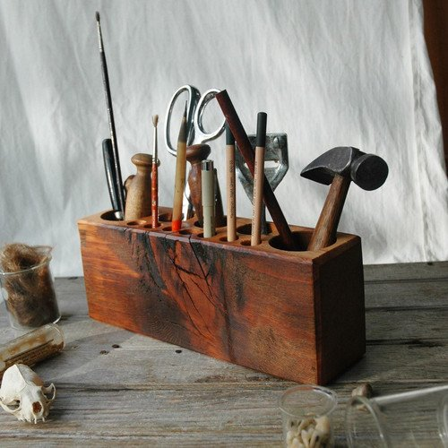 Peg and Awl Desk Caddy — The Man's Man