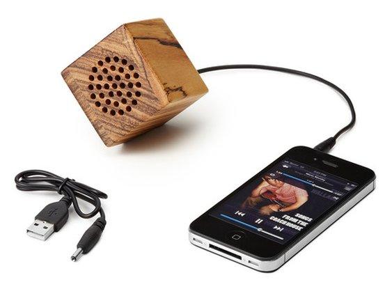 Mini Wooden Speaker — The Man's Man