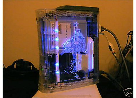 Transparent Master Chief XBox 360 On eBay   Ubergizmo