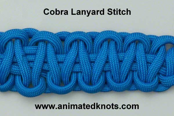 How to tie the Cobra Knot
