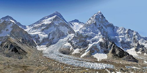 Everest in Two Billion Pixels