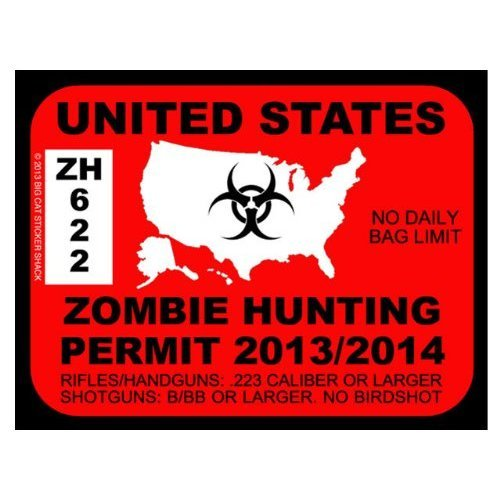 Renew your permit for the upcoming apocalypse.