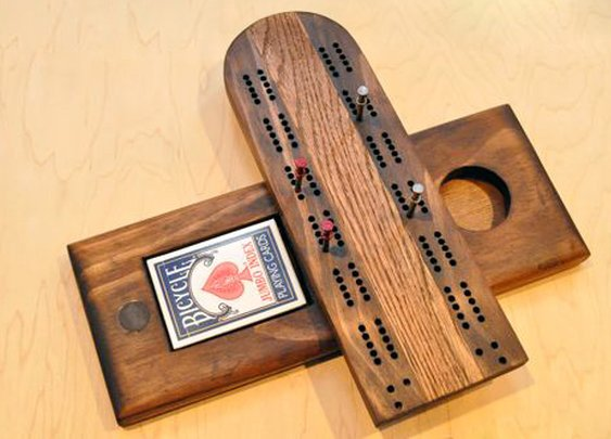 How to Make a Cribbage Board | The Art of Manliness