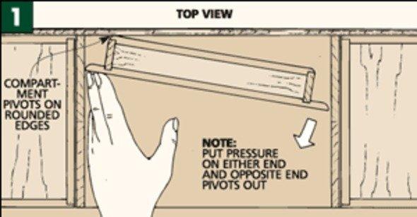Adding a Hidden Compartment - Woodworking Project - StumbleUpon