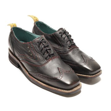 Fab.com | Sidewalk Wingtip Shoe Black